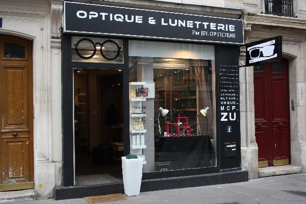 Fa&ccedil;ade de la boutique<br /> Optique &amp; Lunetterie<br /> 36, avenue Parmentier<br /> 75011 Paris
